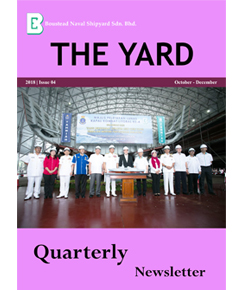 04. Cover Page THE YARD QUARTERLY NEWSLETTER (OCT DEC 2018)